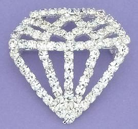 PA427: Austrian Crystal Jewel Pin