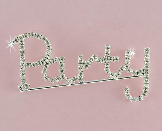 PA613P: Party Crystal Pin