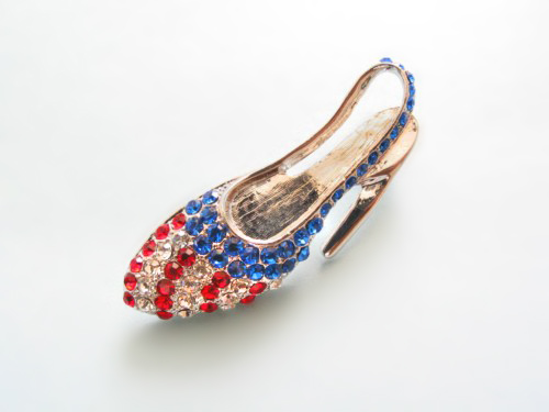 PA640: Red White and Blue Shoe