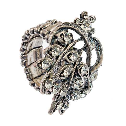 RA312: Floral Stretch Ring