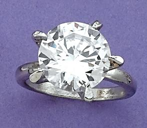 RA78: Billion Dollar CZ Ring with Box