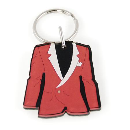 KE52: Red Jacket Keychain