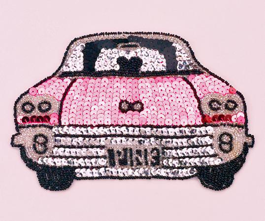 SEQ01: Pink Caddy Applique