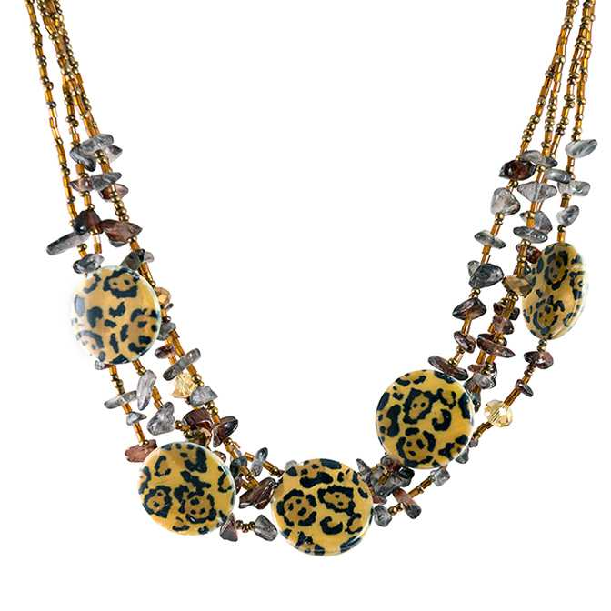 SN330: Exotic Animal Print Mother of Pearl Set