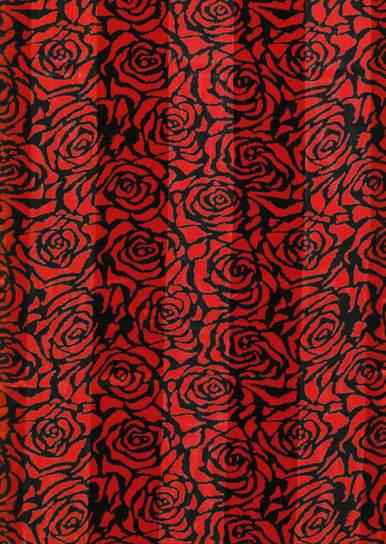 SS73: Red Rose Scarf