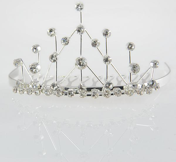 TR20: Mini Crystal Tiara Crown