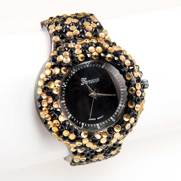 WA168: Exotic Animal Inspired Crystal Watch