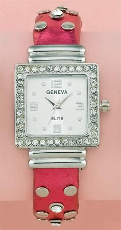 WA51: Hot Pink Cuff / Bangle Watch