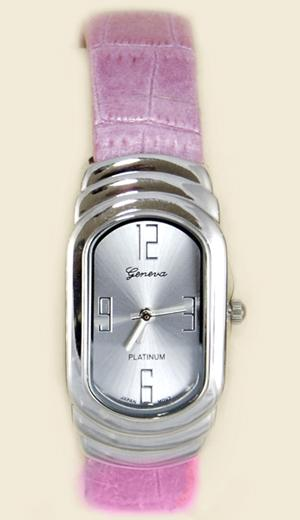 WA81PK: Pink Cuff / Bangle Watch