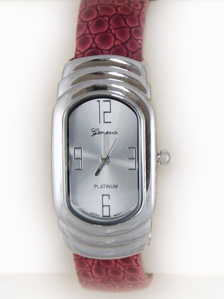 WA81R: Cuff / Bangle Watch in Red, Black or Pink