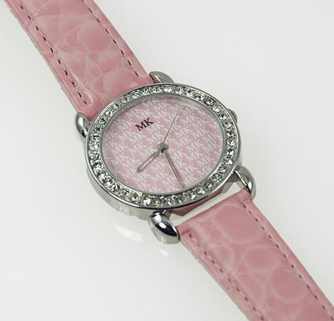 WA88: MK Crystal Watch in Silver