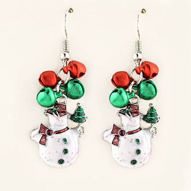 XM215: 1 DZ Christmas Earrings